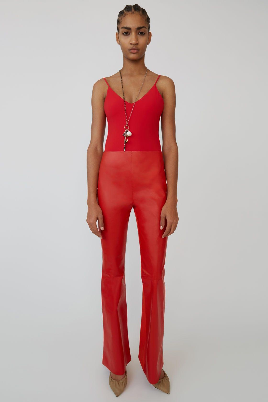 6d8a71590679c Leather Pants Trend Spring 2019, Vegan & Genuine Option