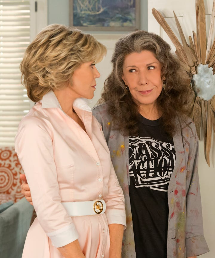 Grace and frankie episode 1