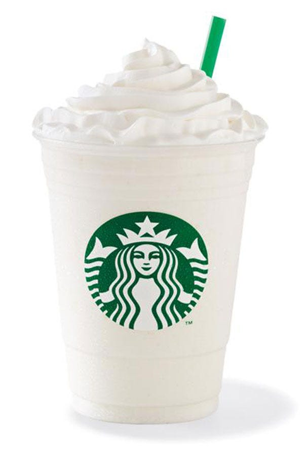 Starbucks Frappuccino Flavors Blended Coffee Drinks