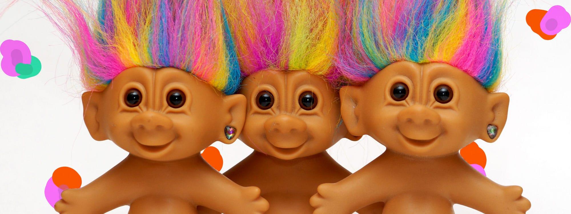 mac trolls makeup collection