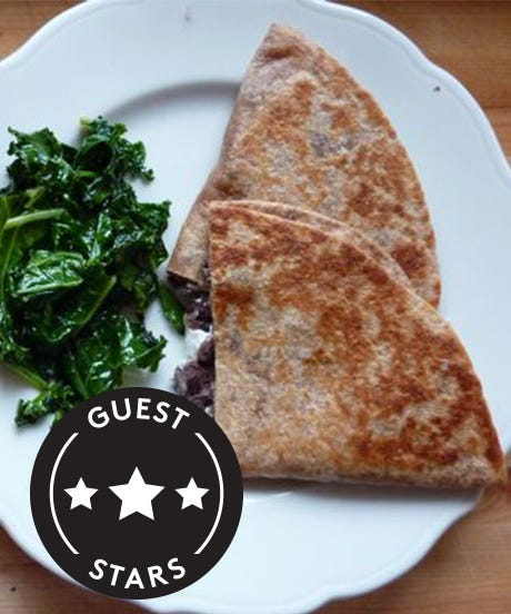 A Veggie Quesadilla Even Meat-Devotees Love