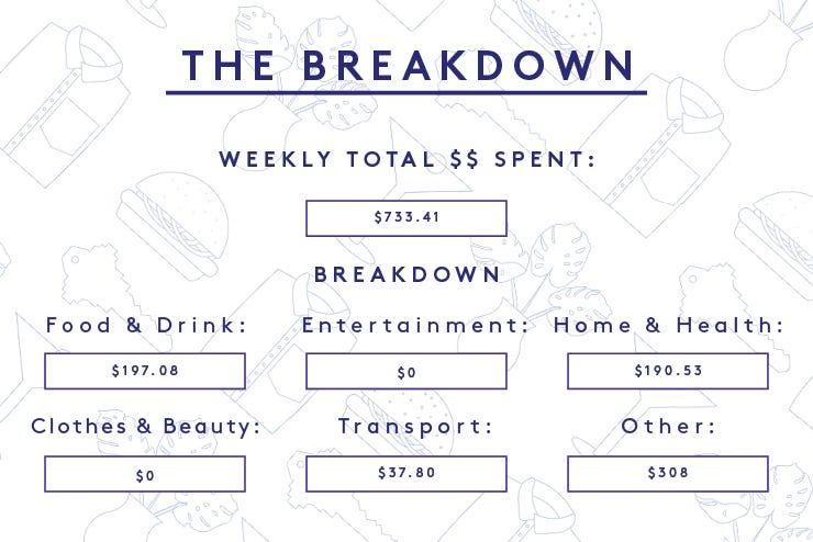 Money Diary Analyst New York, NY Budget