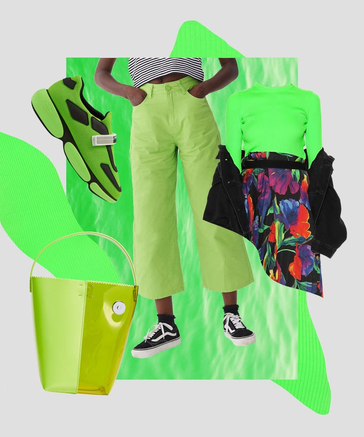 Lime Green Clothing & Accessories