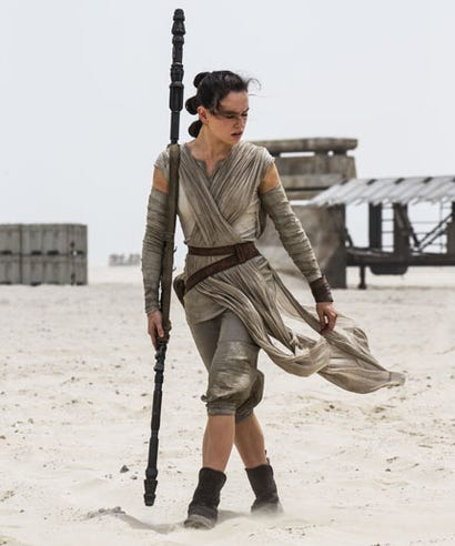 Is This Star Wars The Force Awakens Hairstyle New Leia Buns