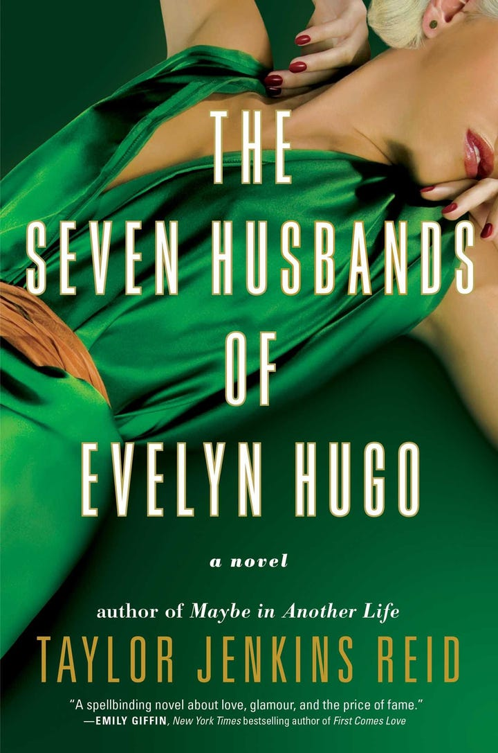 Image result for seven husbands of evelyn hugo