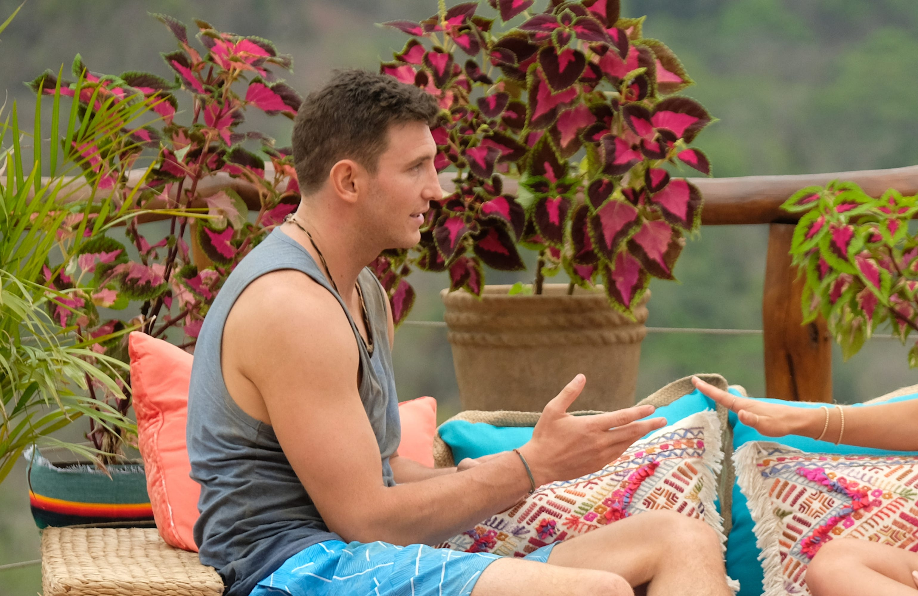 How Long Does Blake Stay On Bachelor In Paradise?