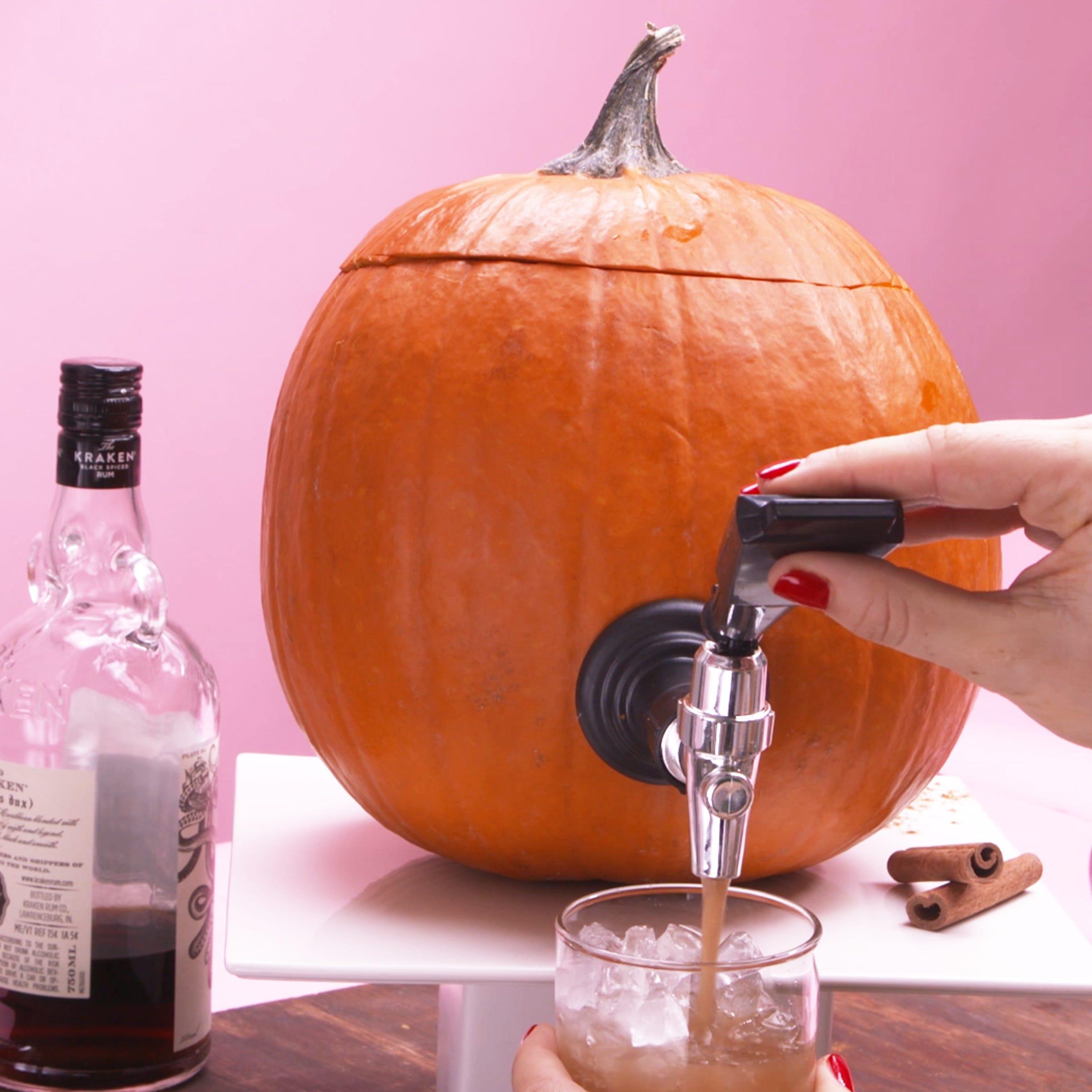 How To Make A Pumpkin Keg