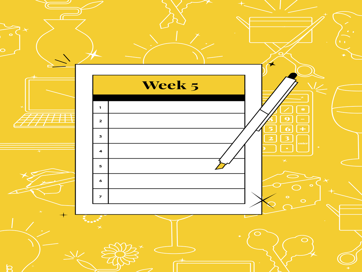 Check Out Week 5 Of The Money Diaries Savings Challenge & Save More Than $600