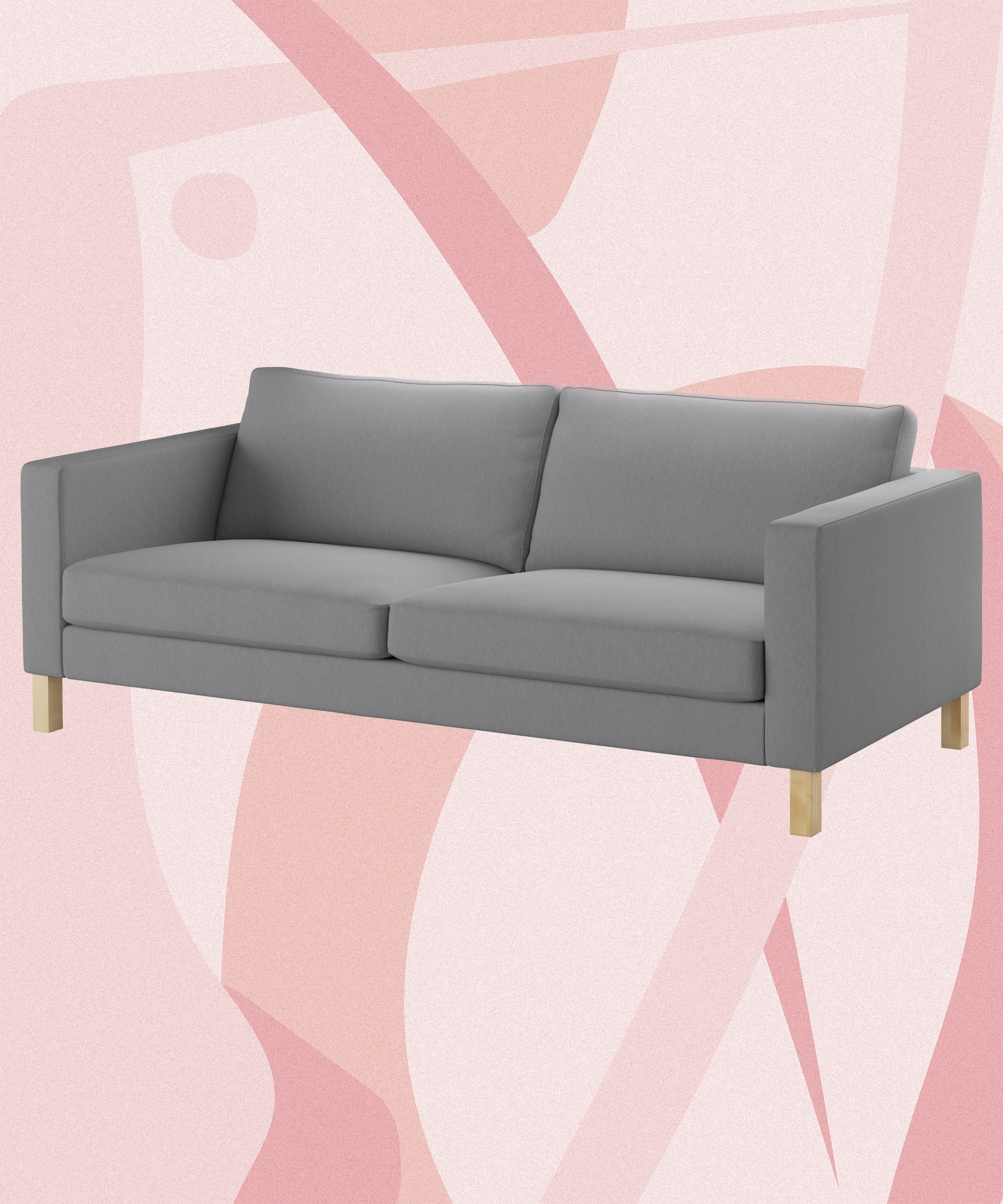 Millennial Pink Ikea Sofa Upholstery DIY How To
