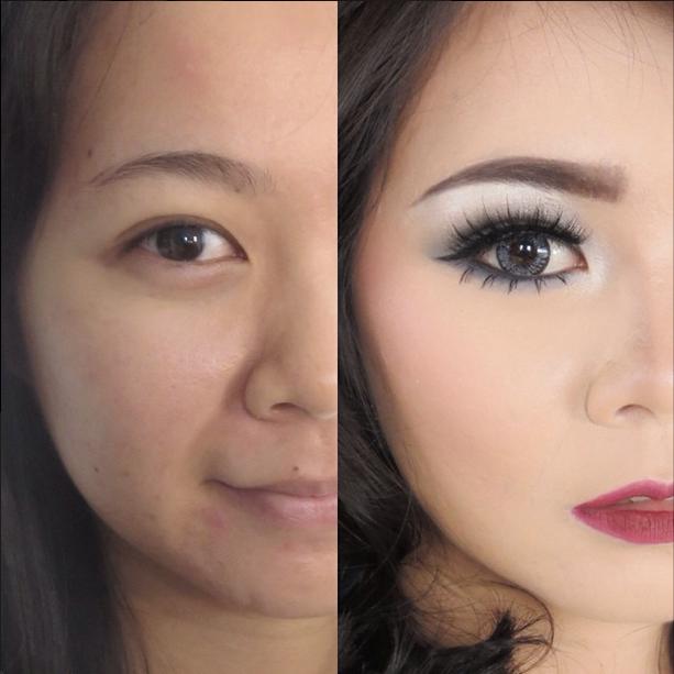 Best instagram makeup transformations publicscrutiny Choice Image