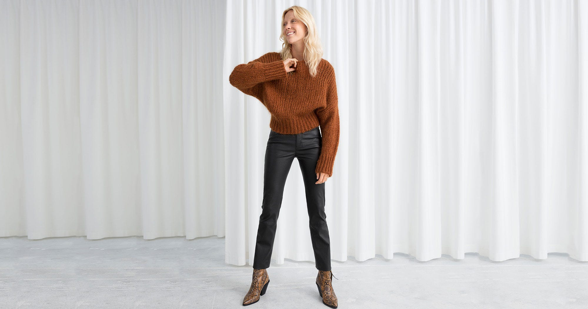 2ee176261d Leather Pants Trend Spring 2019, Vegan & Genuine Option