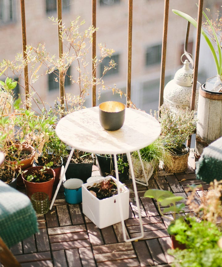 6 Ways To Get More E Out Of Your Small Balcony