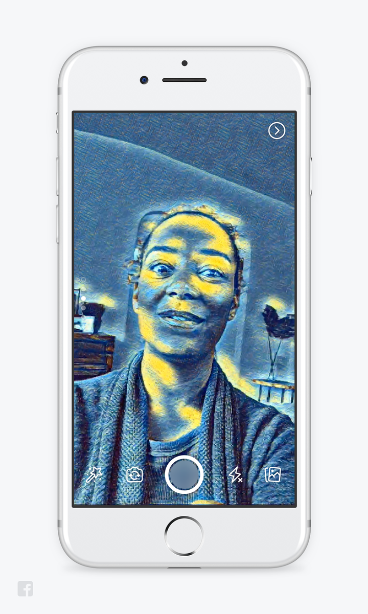 How to use facebook camera stories masks effects photo courtesy of facebook jeuxipadfo Gallery