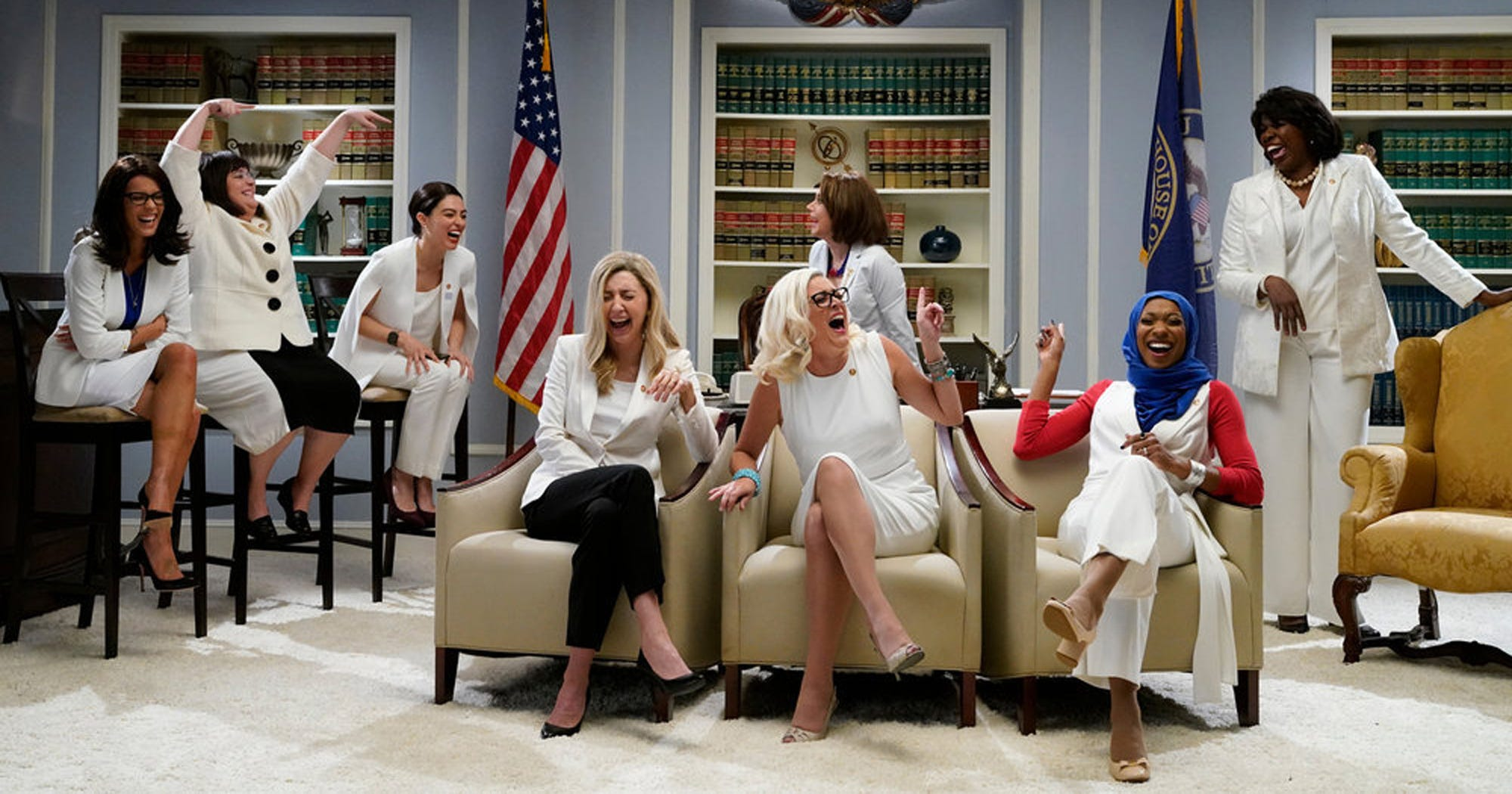"""SNL"" Saluted The Women Of Congress In A Drama We're Ready To Binge"