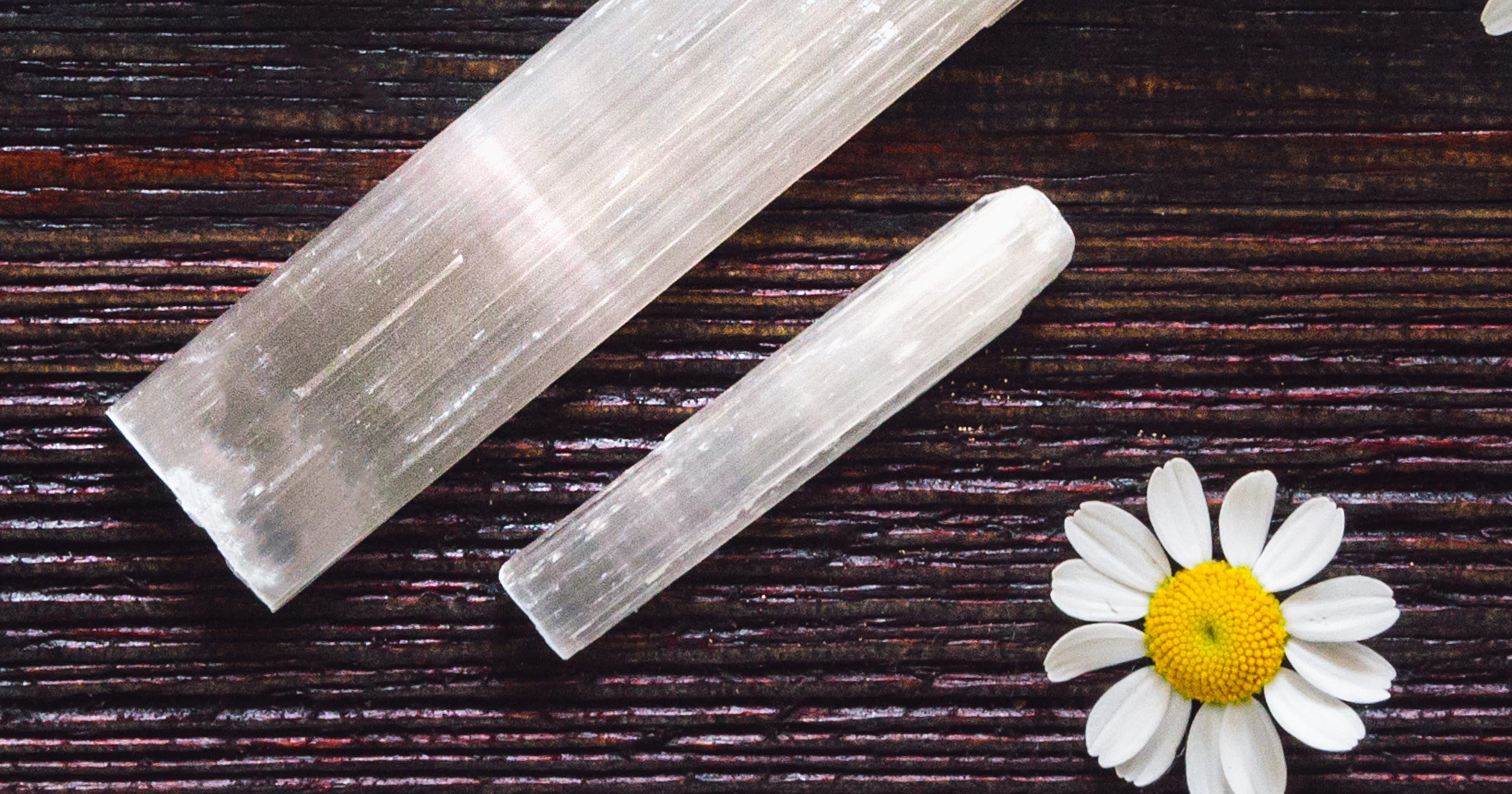 Selenite Crystal Wands - Uses And Healing Properties