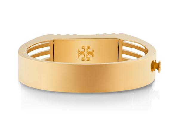 dbf4bd53dd5 Tory Burch Fret Double Wrap Bracelet. Fab Fitbit Accessories For Every  Style. Tory Burch For Fitbit Fashionable Fitness Trackers