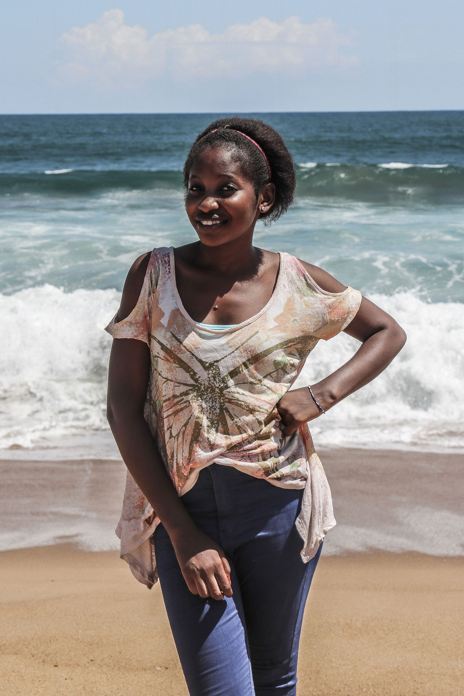 Liberia Sex-Modell, Analsex Spion