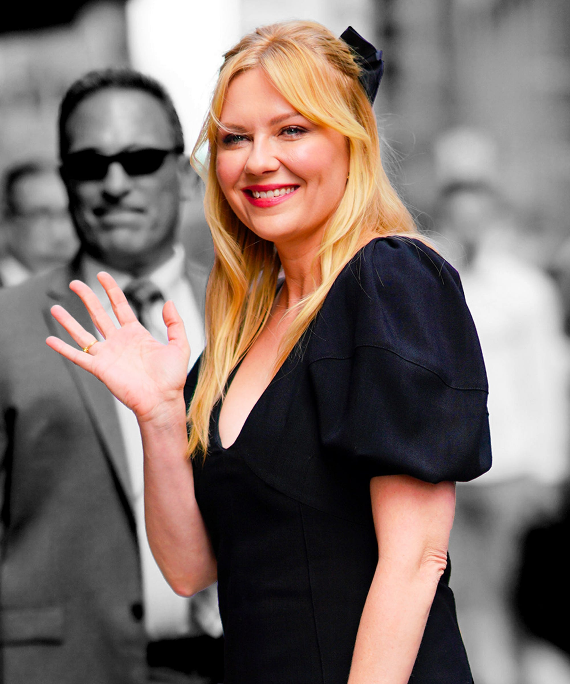 Kirsten Dunst Is Making A Case For The Curtain Fringe This Autumn