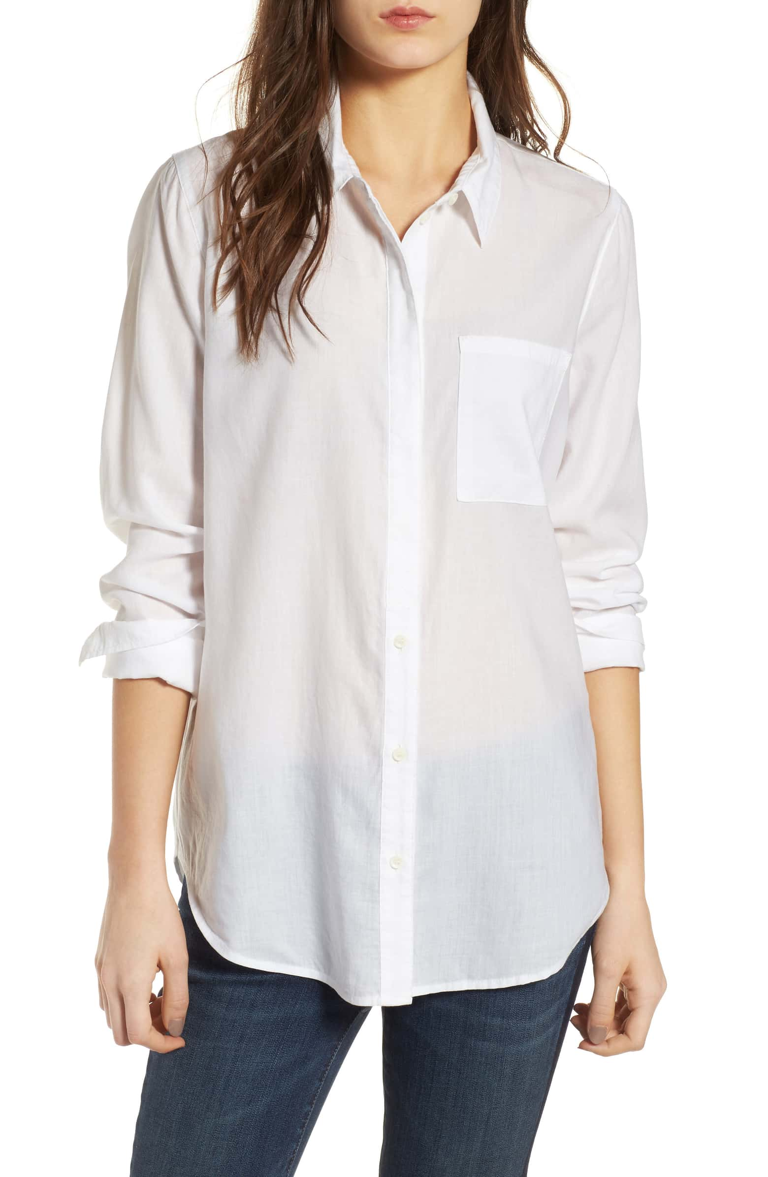 841f41283 Shop Best White Button Down Shirts - Women's Clothing