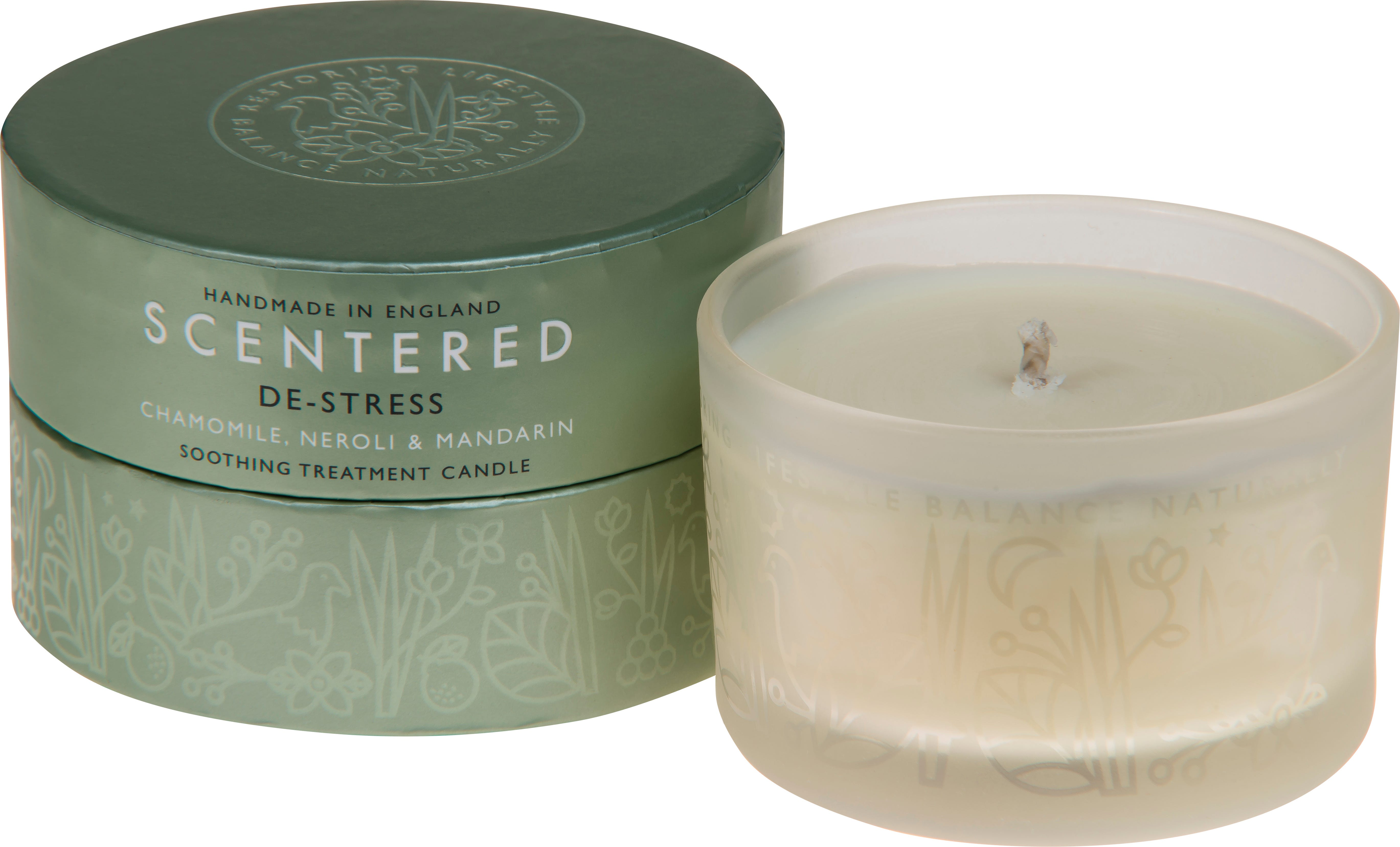 De-Stress Travel Therapy Candle