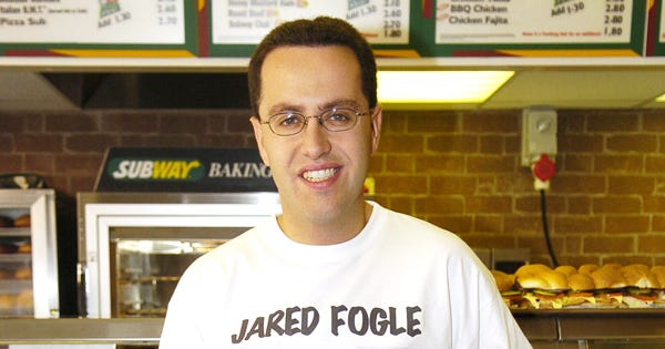 Jared Fogle Biological Children