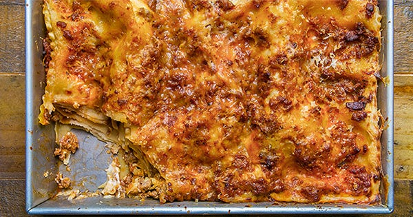 You'll Never Make Lasagna Any Other Way