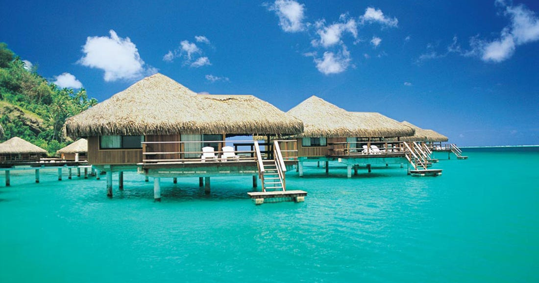Overwater Vacation Bungalow Rentals
