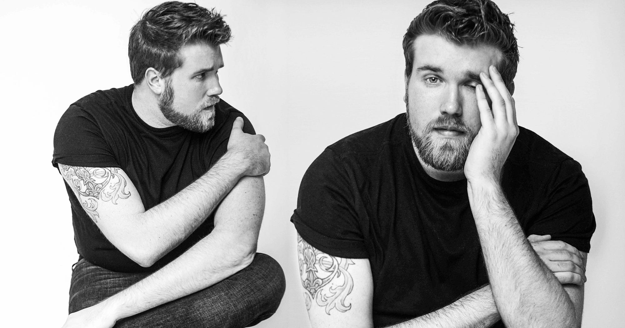 This Plus-Size Male Model Understands Body Positivity