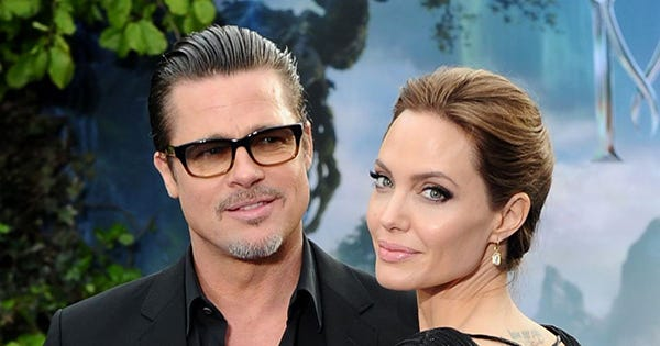 Angelina Jolie & Brad Pitt Actually Got Married In A Spontaneous California Ceremony