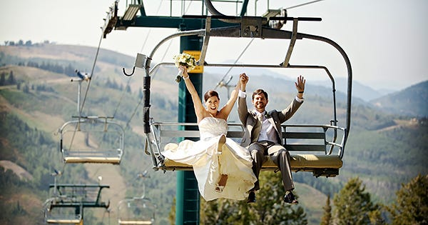 60 Super-Romantic Places To Elope