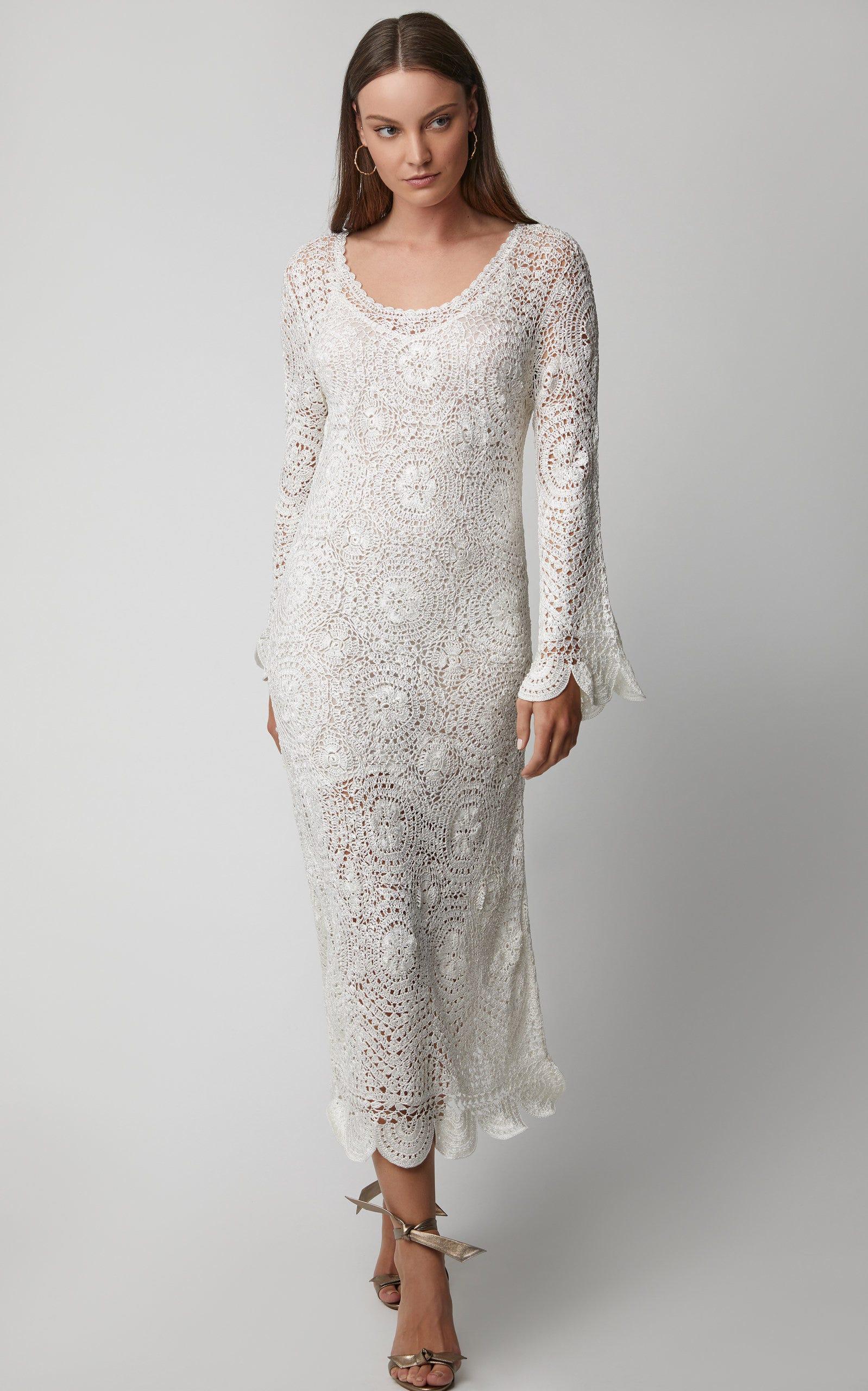 Helen Crochet Maxi Dress