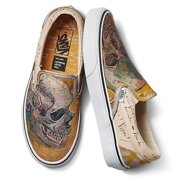7f4ca04731f Vans x Van Gogh Sneaker   Clothing Collab Is Pure Art