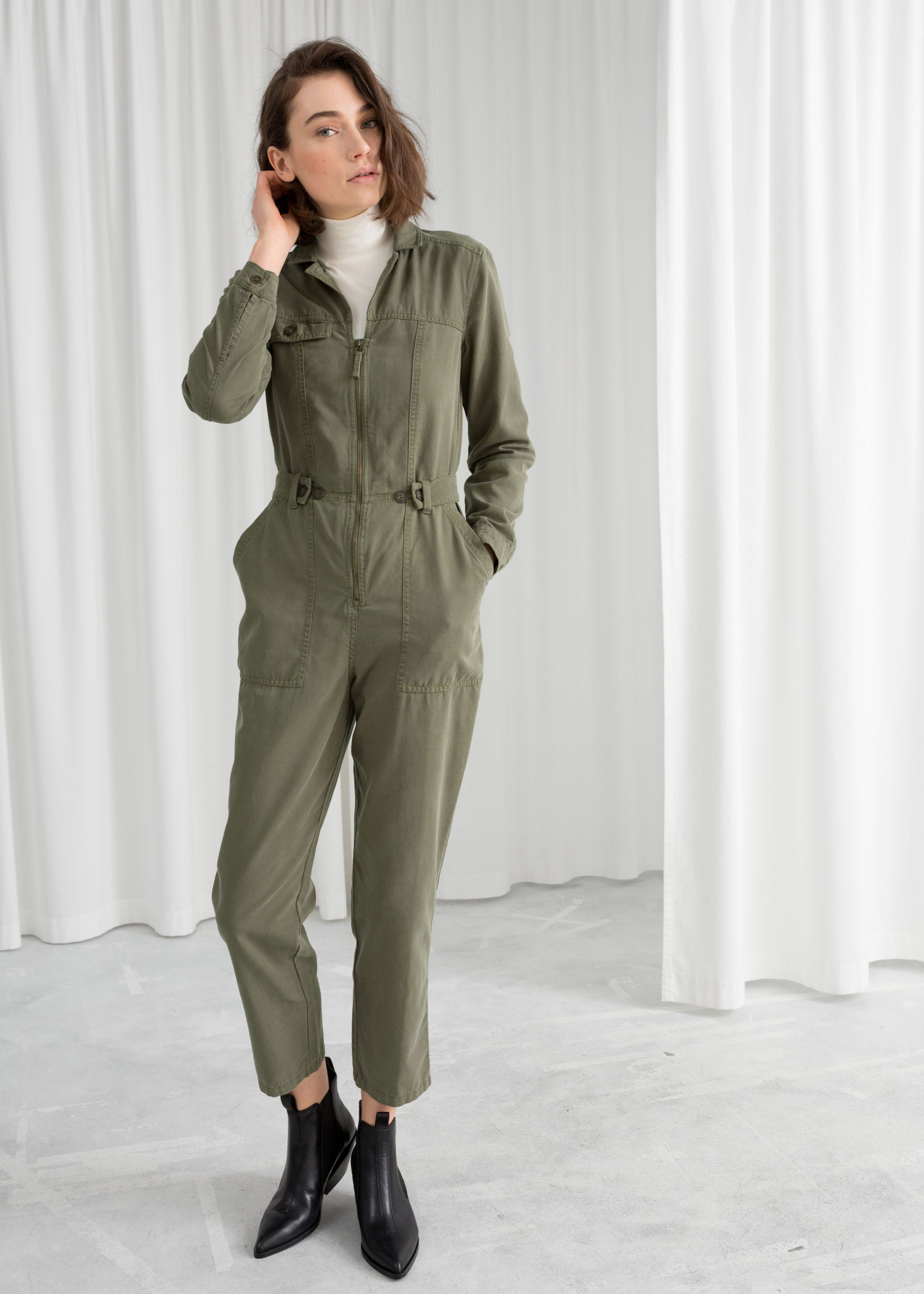 27e7ae6df6e INFO ·   Other Stories. Utility Workwear Boilersuit