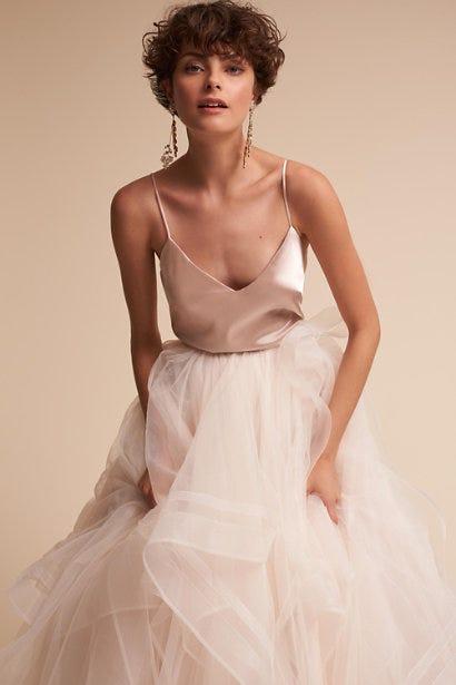 a40707811ca7 Beautiful Blush Wedding Dresses For Brides 2019