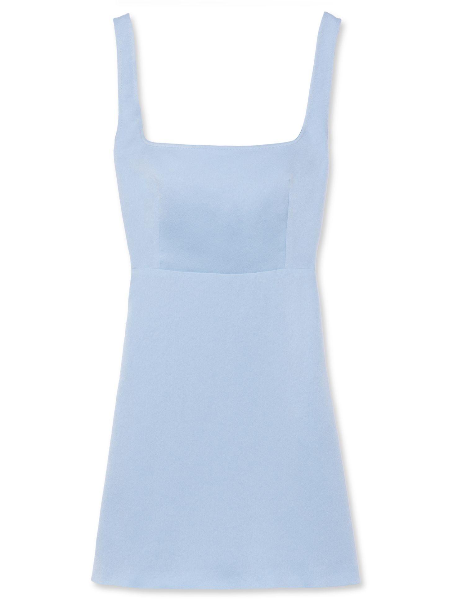 3bca8447418d6 Pale Blue Cut Out Back Dress