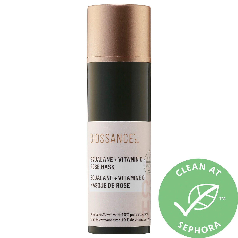 Squalane + Vitamin C Rose Mask