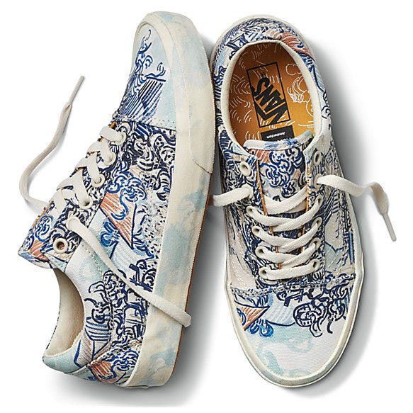 Vans x Van Gogh Sneaker   Clothing Collab Is Pure Art 6e50ff047