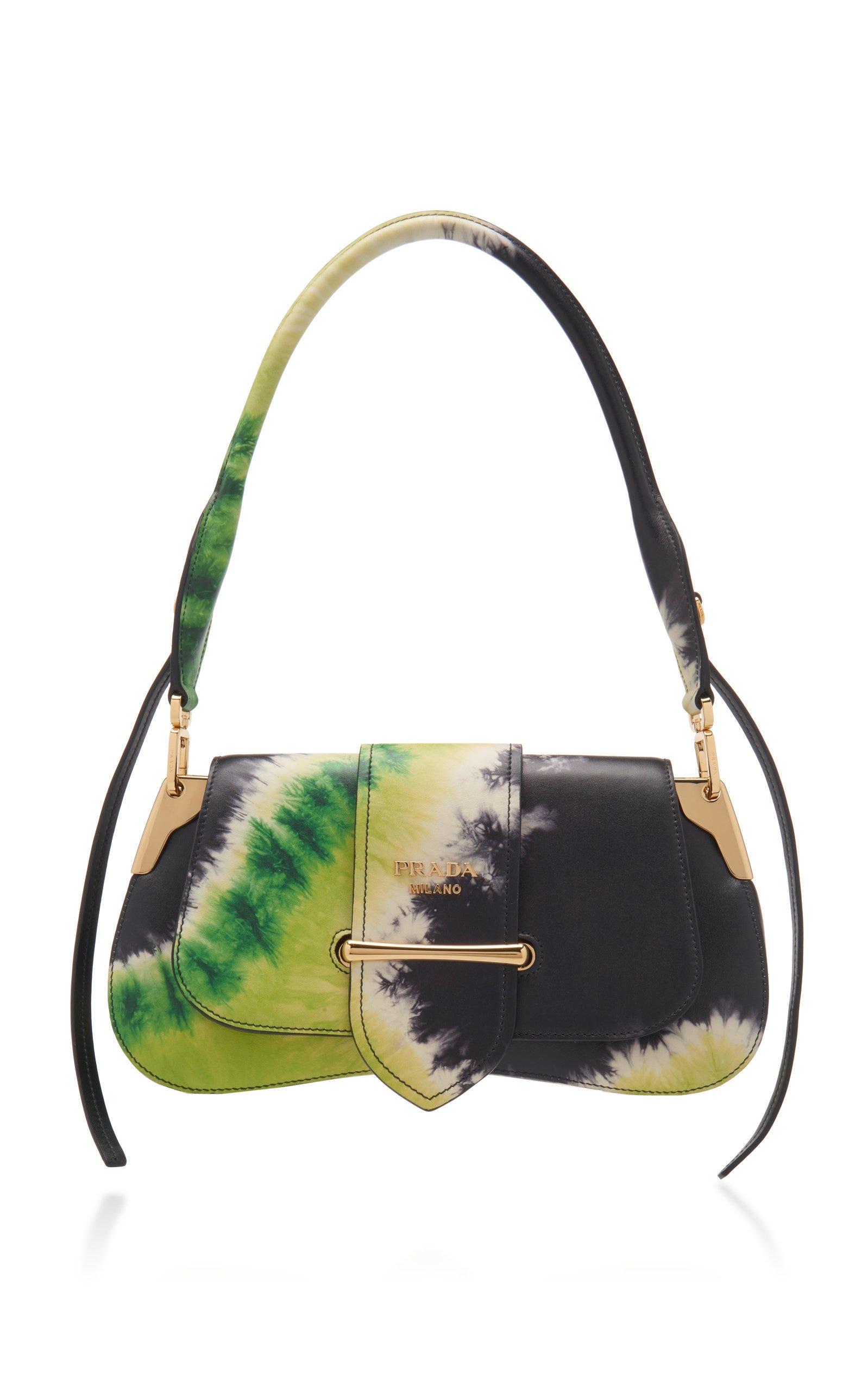 b3afbf1964e5 Prada. Pattina Tie-dye Leather Shoulder Bag