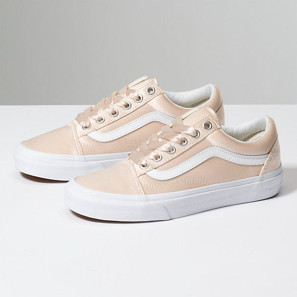 7247bbb3e6eb Vans New Shiny Rose Gold