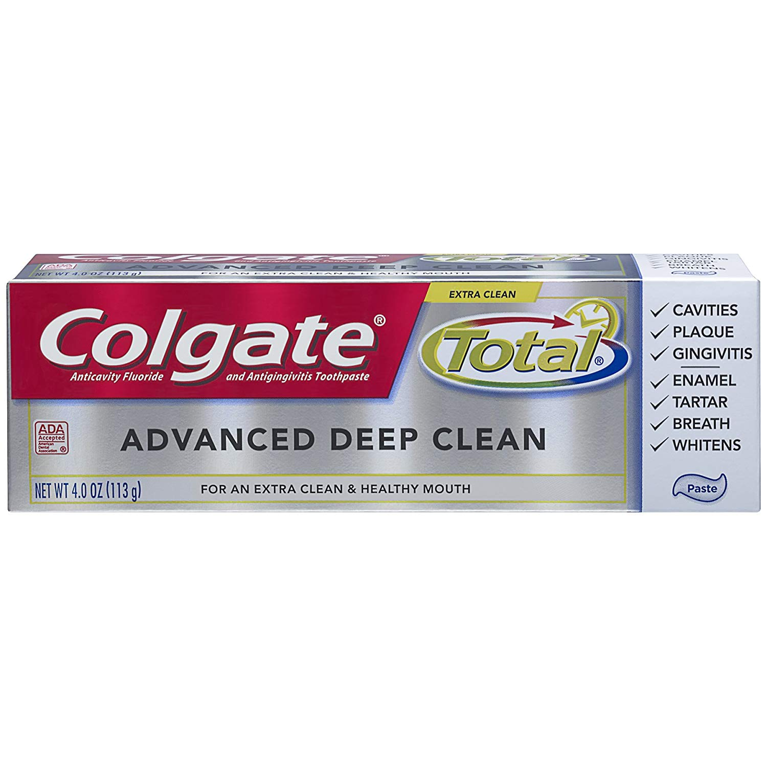 Colgate Dentifrice Colgate Total Advanced Deep Clean - 4 oz