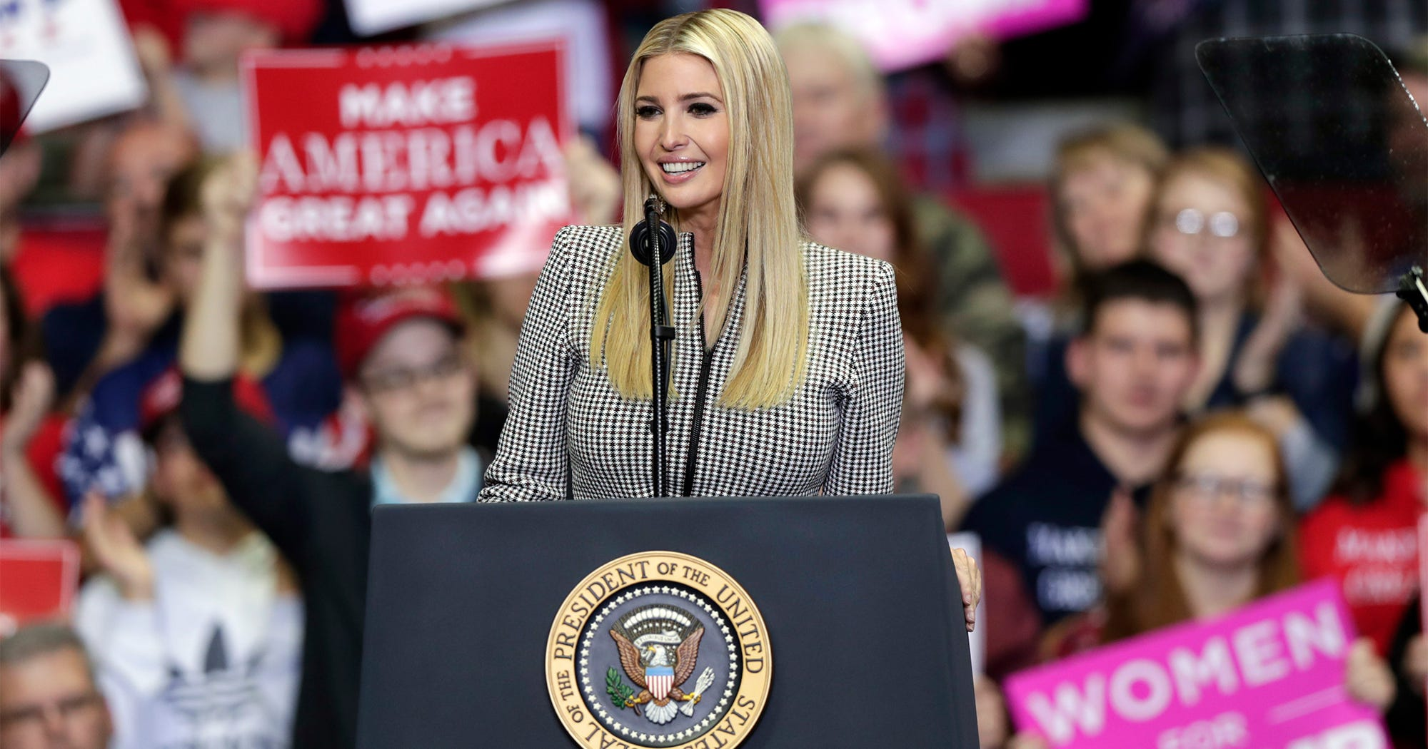 Ivanka Trump Gets Trademarks For Voting Machines