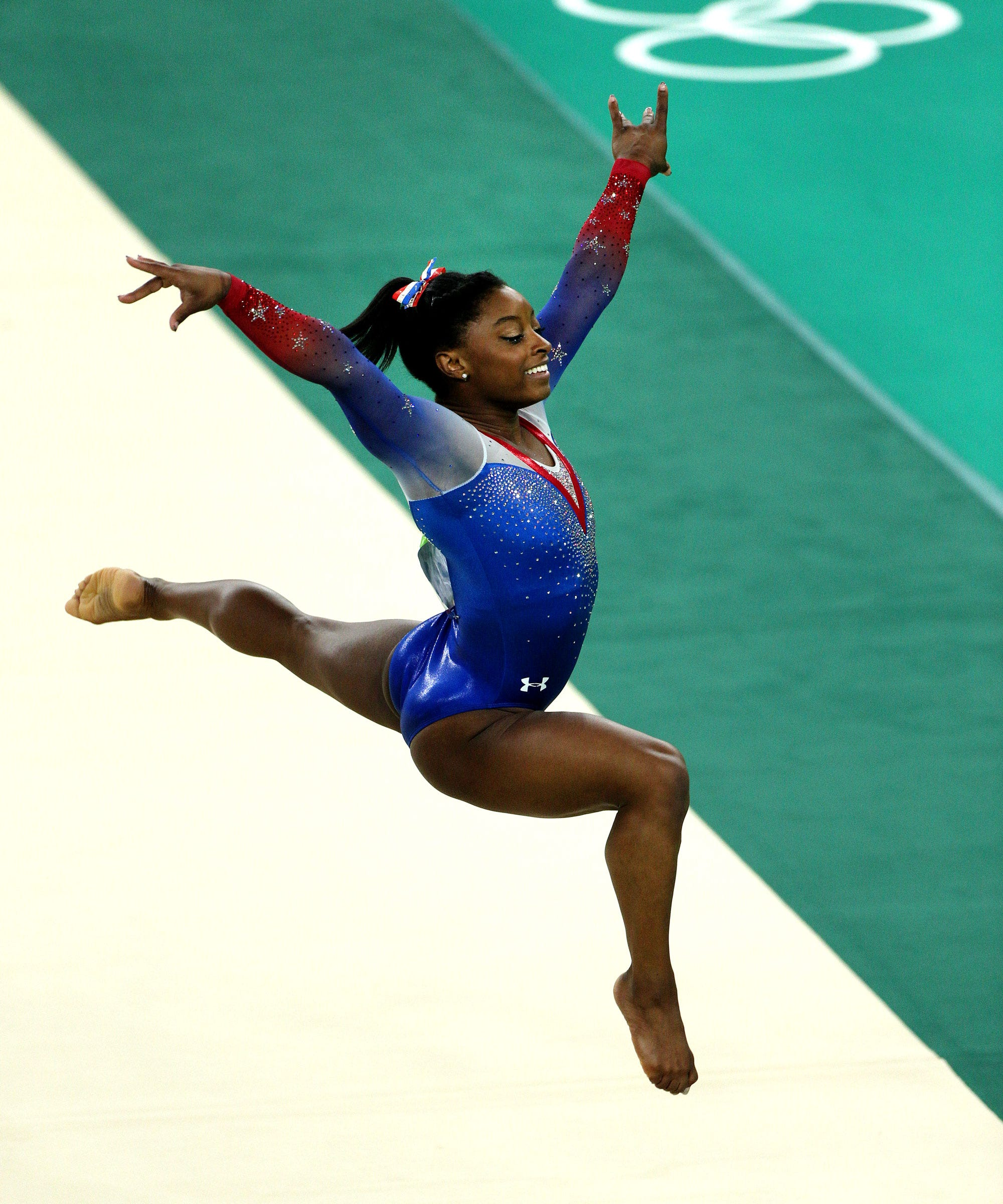 Simone Biles Olympic Gold Medal Win Floor Routine Video