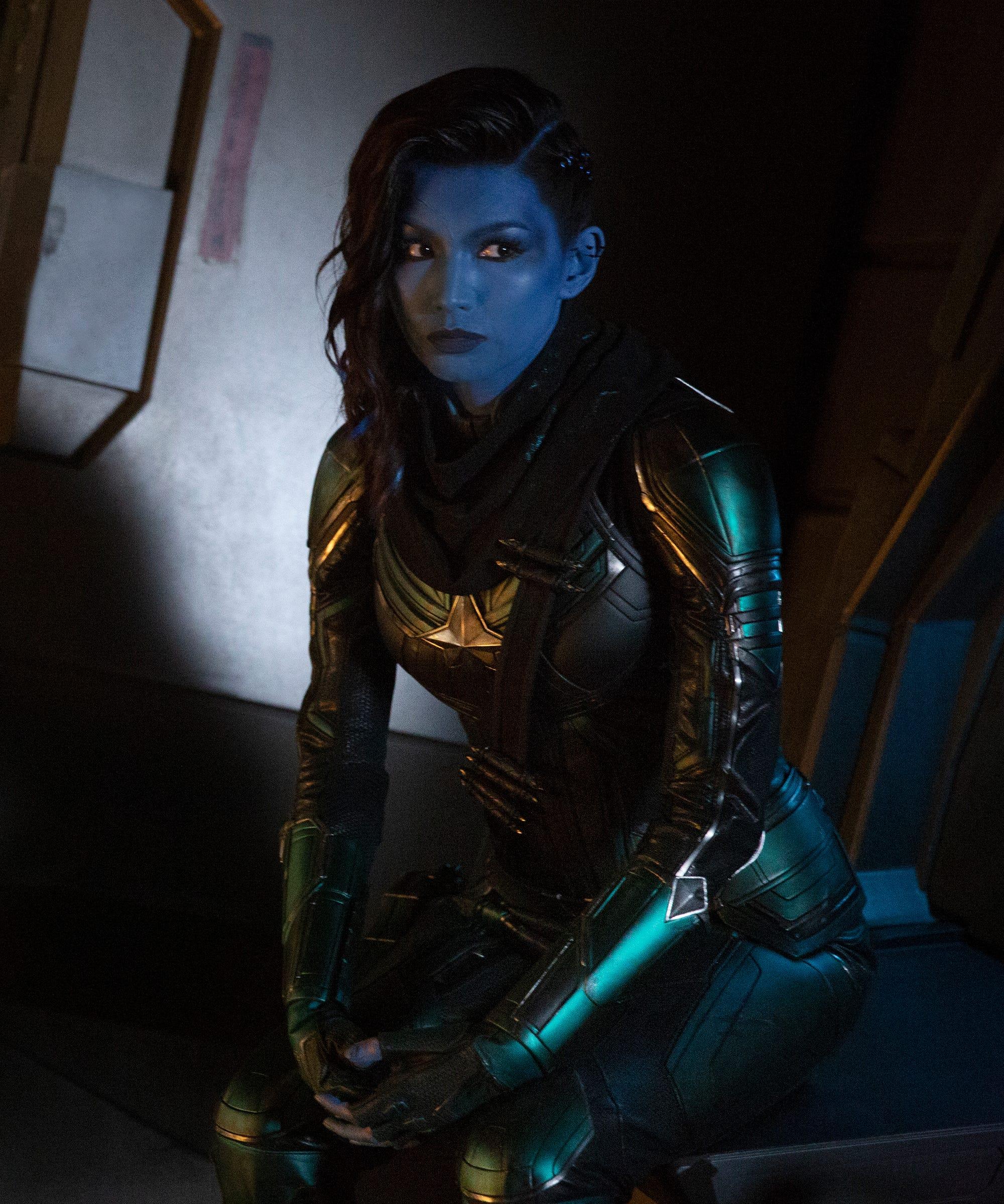 Who Is Captain Marvel Minn Erva Comics Origin, Actress