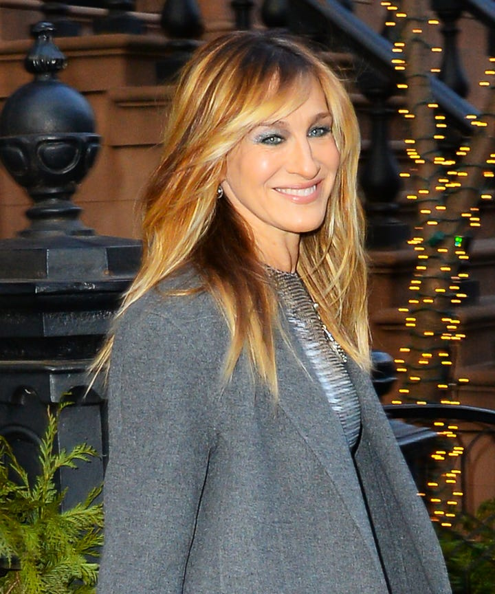 The New Hairstyle of Sarah Jessica Parker