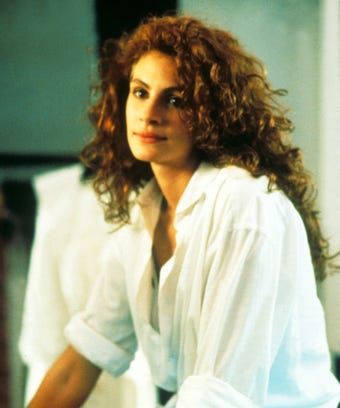 Julia Roberts Red Hair Pretty Woman Character Color