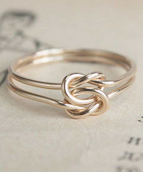 Engagement Rings Knot: Non Diamond Engagement Rings