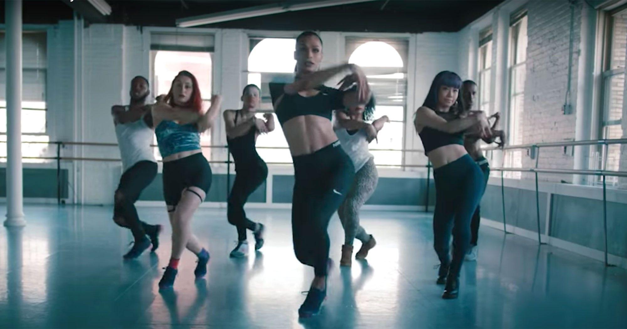 Nike Voguing Ad Transgender Dance Movement