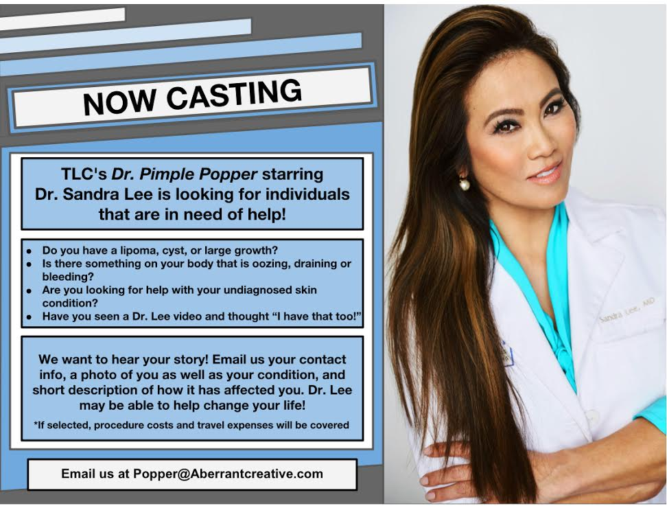 Dr  Pimple Popper Is Taking New Patients For TLC Show