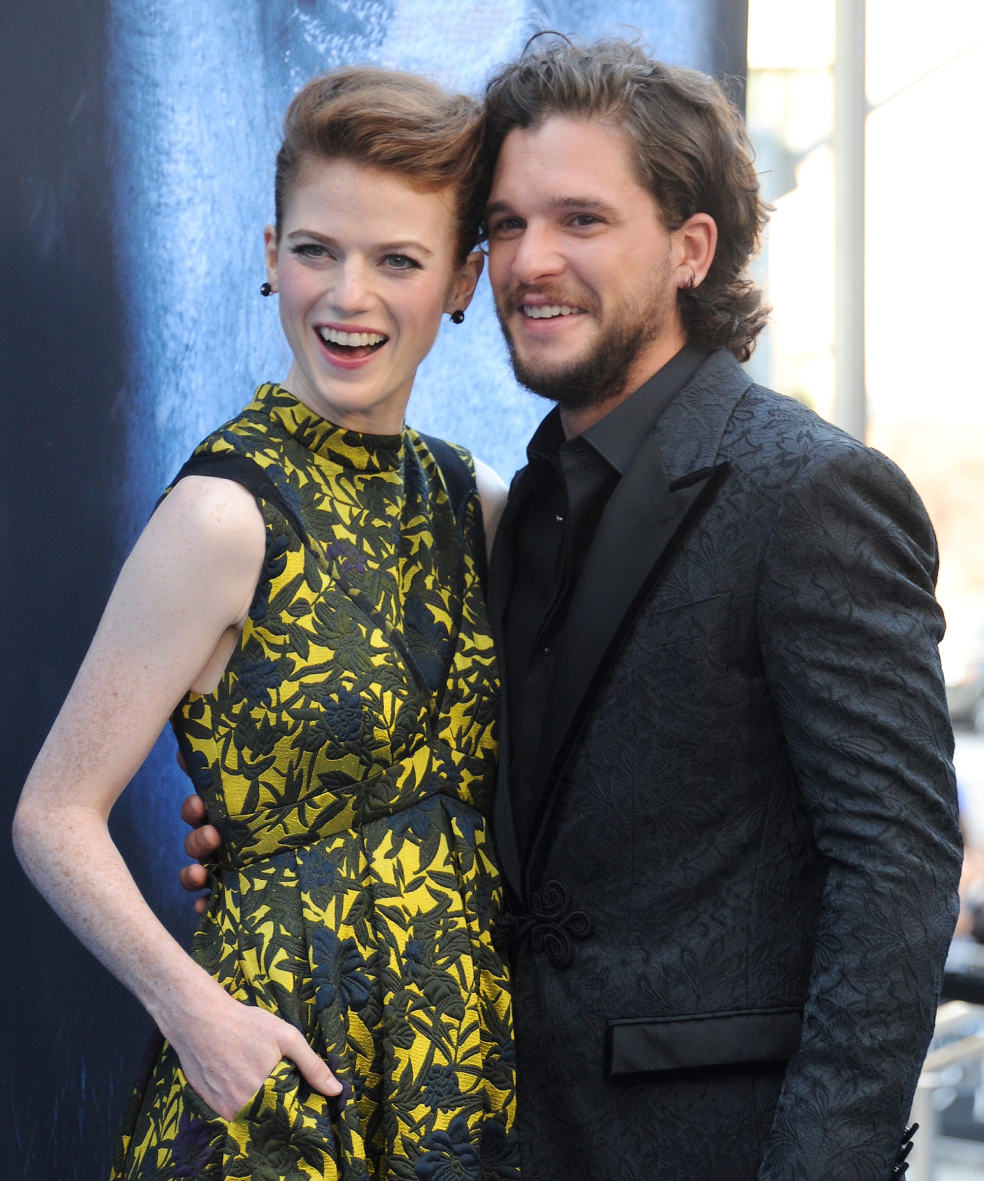 Kit Harington And Rose Leslie Celebrate Anniversary