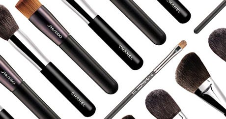 essential makeup brushes types  how to use tips